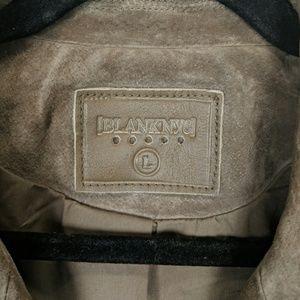 Blank NYC Jackets & Coats - Blank NYC Morning Suede Moto Jacket